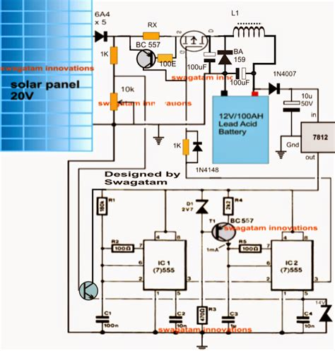 How Build Self Optimizing Solar Pwm Charger Circuit