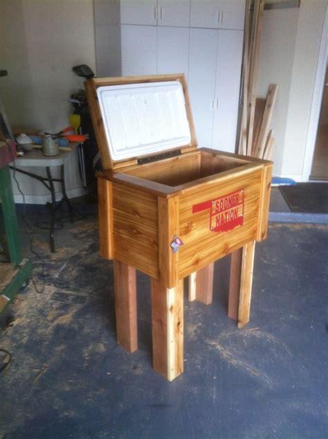 sooner cowboy cooler  bard  lumberjockscom woodworking community