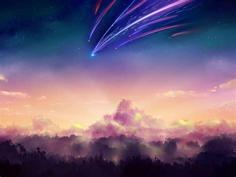 Kimi No Na Wa Your Name 君の名は Kimi No Na Wa Your Name Starry Sky Nagareboshi