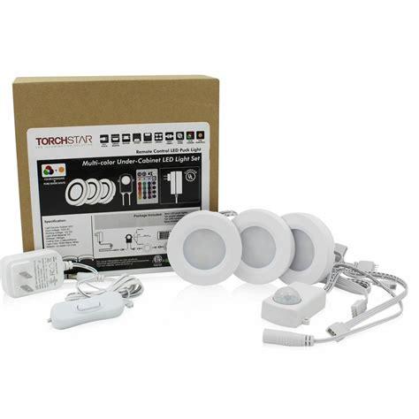 led cabinet lighting kits rgbww led cabinet lighting kit 3pcs 2watt led puck