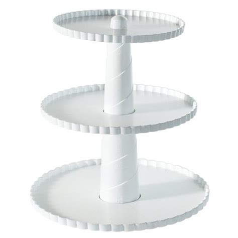 tier dessert stand  tier rectangular serving platter  tiered cake tray stand food