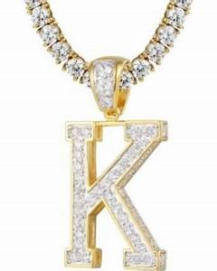 Get ready for fall 2019! 85% Off Initial K Pendant 3D ...
