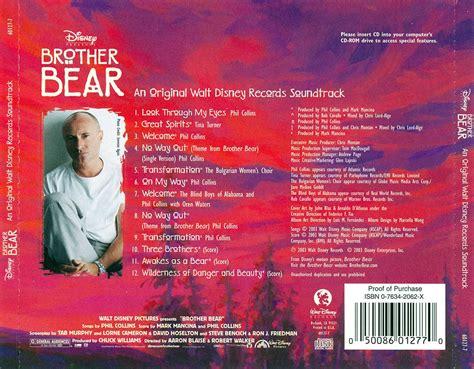 Mark Mancina Phil Collins Va Brother Bear Original