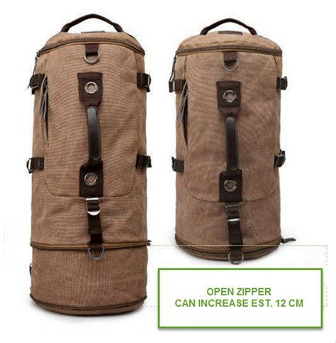 Tas Canvas Ransel jual tas ransel backpack kanvas import canvas travel bag
