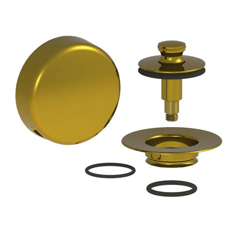 Bathtub Drain Strainer Polished Brass by Watco Quicktrim Lift And Turn Bathtub Stopper With