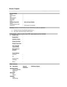 fill in resume templates blank printable resume form bestsellerbookdb
