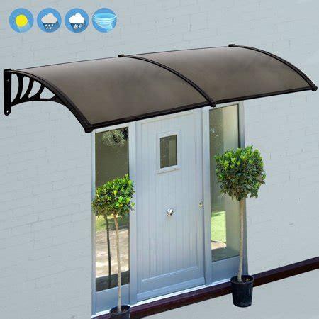 zeny  overhead door window outdoor awning door canopy patio cover modern polycarbonate