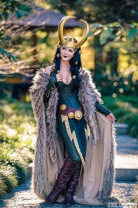 Lady Loki Cosplayer Ashlynne Dae Photographer York In A