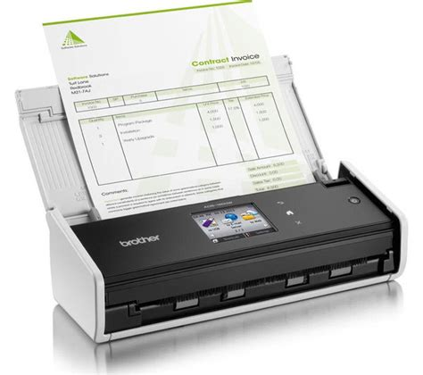 brother adsw compact wireless document scanner deals