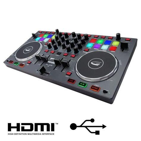 Gemini Slate4 Table De Mixage 4 Voies Usb Hdmi  Table De
