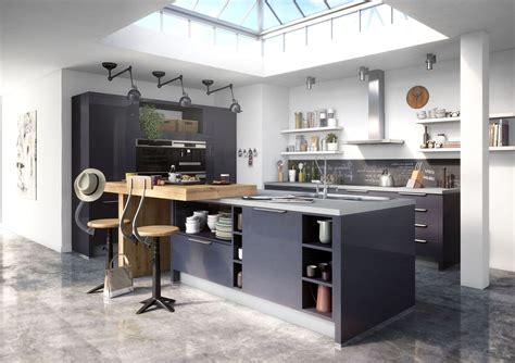 plan cuisine avec ilot kitchens implantation cuisine with regard to en u avec