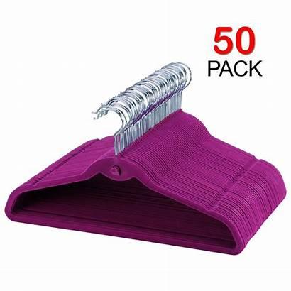 Hangers Heavy Slip Coat Duty Velvet Non