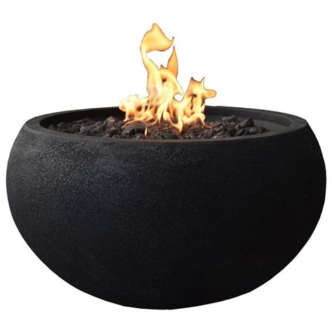 The allure of sitting around. Astrath Concrete Propane/Natural Gas Fire Pit in 2020 | Outdoor fire pit table, Natural gas fire ...