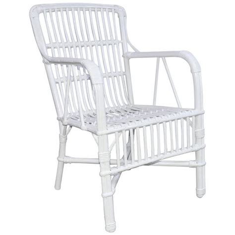 Rattan Armchairs Sale by Vintage Rattan Stick Wicker Armchair For Sale At 1stdibs