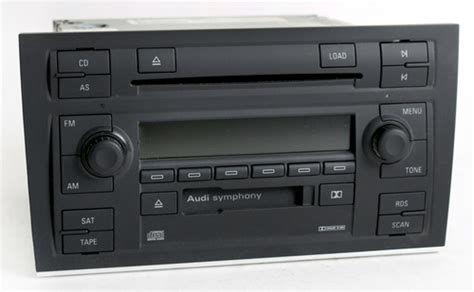 200608 Audi A4 Symphony 2 Radio Am Fm Cs 6 Disc Cd Sat