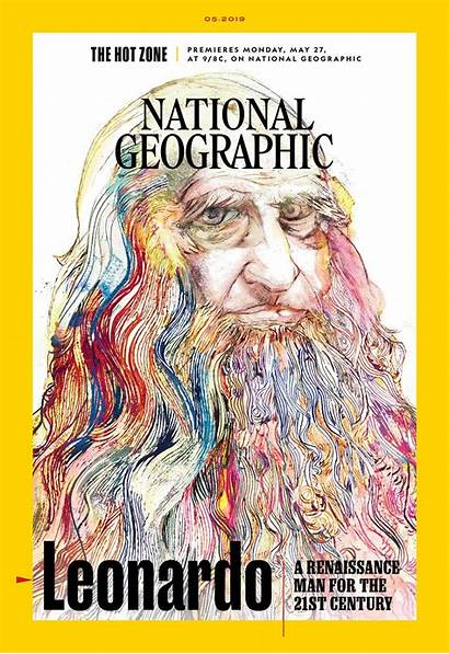 Geographic National Magazine Leonardo Vinci English Edition