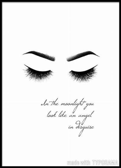 Poster Malen Quotes Makeup Zum Esthetician Hintergrundbilder