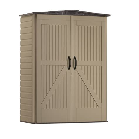 Rubbermaid Roughneck Storage Shed Accessories shop rubbermaid roughneck gable storage shed common 5 ft