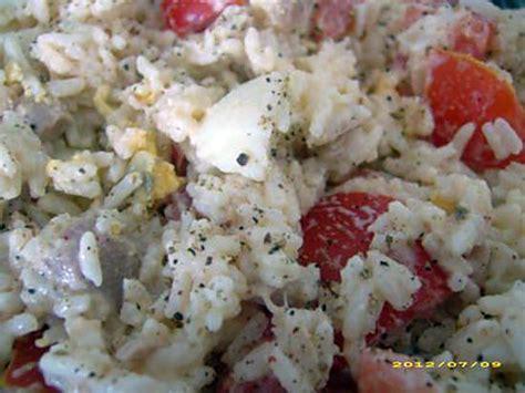 recette de salade de riz 224 la mayonnaise sp 233 cial pique nique