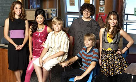 Suite On Deck Cast Reunion by Debby And Cole Sprouse Just Had The Cutest Quot Suite