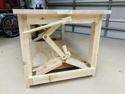 lb work bench  retractable wheels woodworking