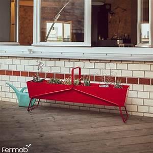 Jardiniere Haute Sur Pied : jardini re longue basket jardinchic ~ Melissatoandfro.com Idées de Décoration