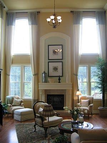 2 story curtains sitting pretty