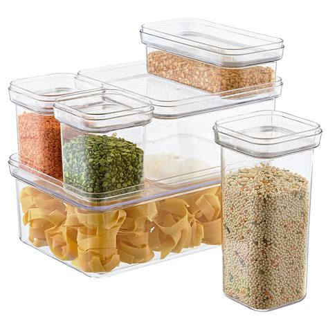 storage sets for kitchen set of modular canisters the container 5884