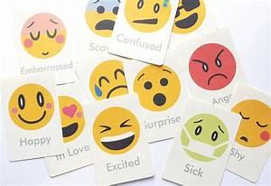 Emotions Flash Cards … | Pinteres…