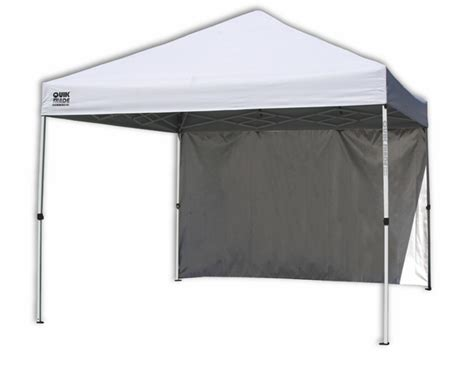 quik shade  canopy wall panel  straight legs