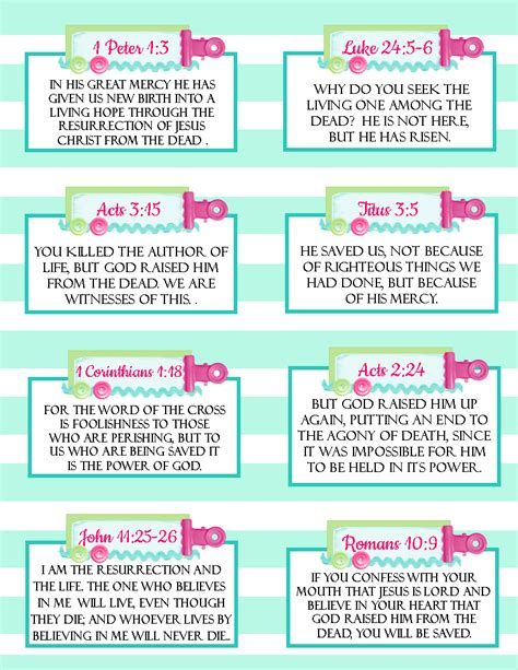 free printable easter verse cards great for memory verse 840   ae2d0b301a44a8218bc451e31cdc58c8