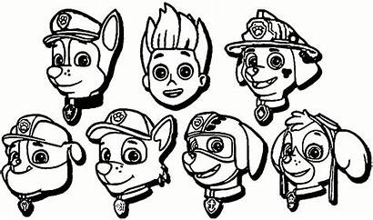 Paw Patrol Chase Drawing Coloring Pages Clipartmag