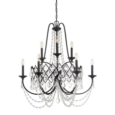 bronze chandelier with accents designers ravina 9 light vintage bronze