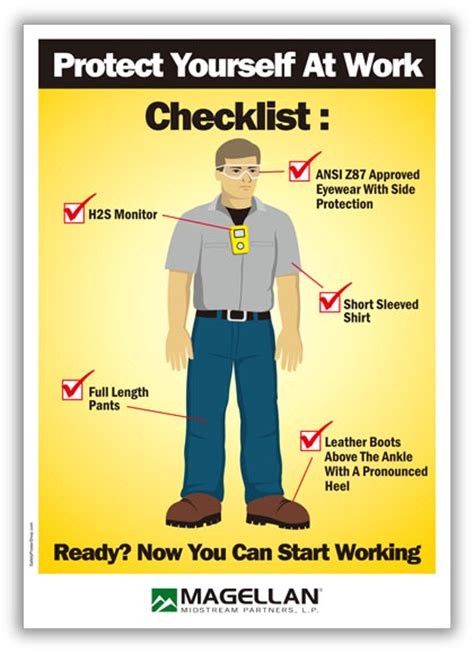 magellan ppe poster safety poster shop safety poster shop