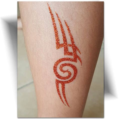 tatouage paillette tribal