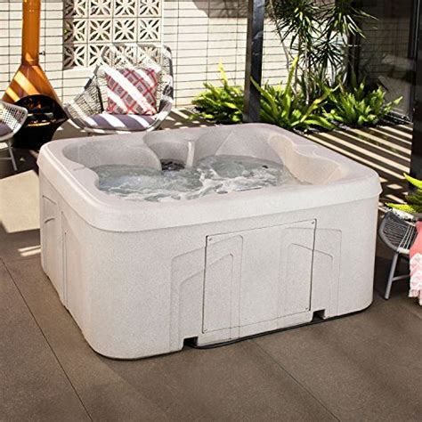 lifesmart 4 person rectangular tub lifesmart rock solid simplicity and play 4 person
