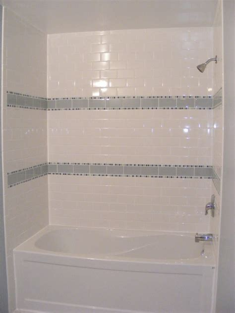 subway tile bathroom shower in white useful reviews of