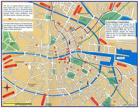 518 Mapping Bloomsday (With images) Hyperbole James