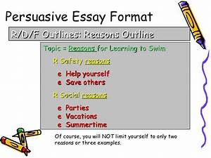 Planning sheet for persuasive writing