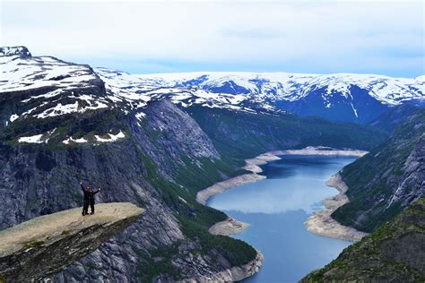 Living On The Edge Trolltunga Norway Restless Bums