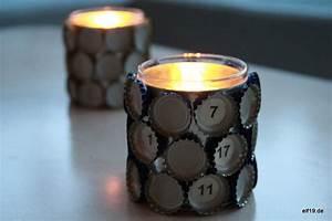 Upcycling Ideen Papier : upcycling windlichter aus kronkorken basteln ~ Eleganceandgraceweddings.com Haus und Dekorationen
