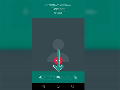whatsapp beta for android now lets users quickly switch between and voice calls gizbot news
