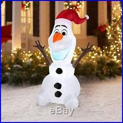 disney frozen olaf  feet inflatable home decoration
