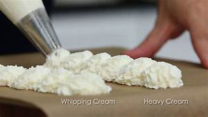 What's the Difference Between Heavy Cream and Whipping ...