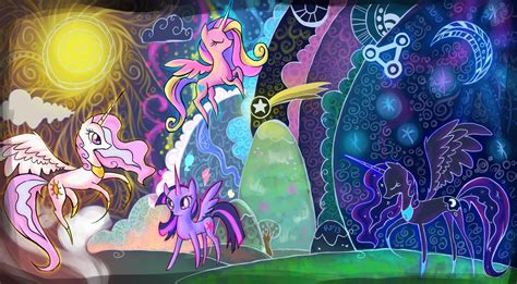 castle siege flash growth mlp fim theory what makes an alicorn special