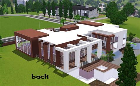 modern house floor plans sims  awesome home design modern