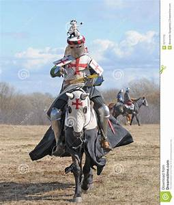 The knight on horseback stock photo. Image of fighter ...