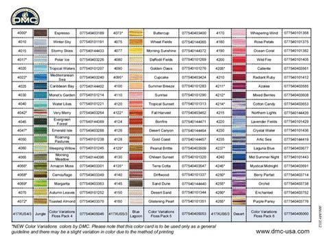 dmc color chart dmc thread color chart dmc sc perle colour chart columns