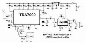 Radio Receiver Block  U0026 Circuit Diagram
