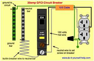 Double 20 Amp Breaker Wiring Diagram